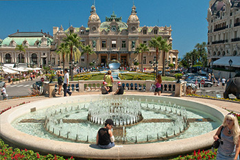 Stop at Monaco's well-known Casino, built by Charles Garnier, just after he built the Paris Opera. Photo: © www.davidphenry.com